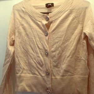 Light pink/peach H&M cardigan